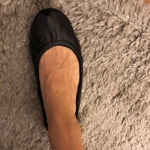 BNIB fold up ballerina flats with bag